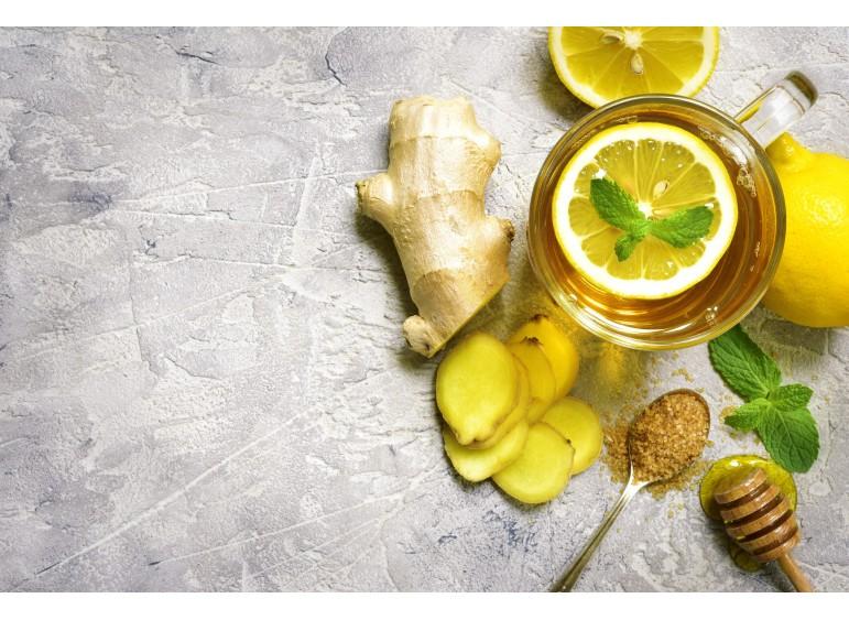 Ginger + lemon + honey - is a real recipe for health!