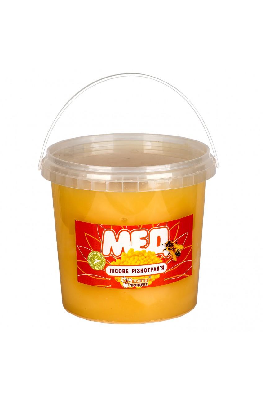 Мед Лесное разнотравье, 0,7 кг (пластик)