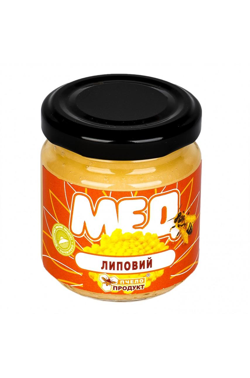 Мед Липовый, 0,15 кг (стекло)