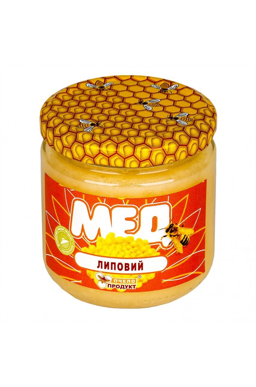 Мед Липовый, 0,25 кг (стекло)