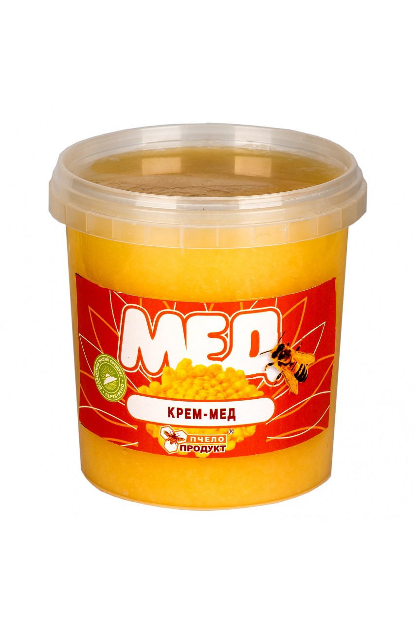 Крем-мед 0,5 кг (пластик)