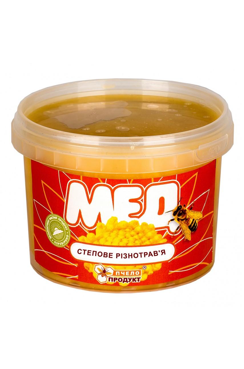 Мед Степное разнотравье 0,5 кг (пластик)