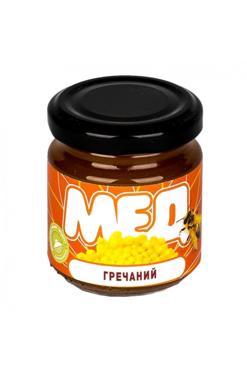Мед Гречишный, 0,15 кг (стекло)