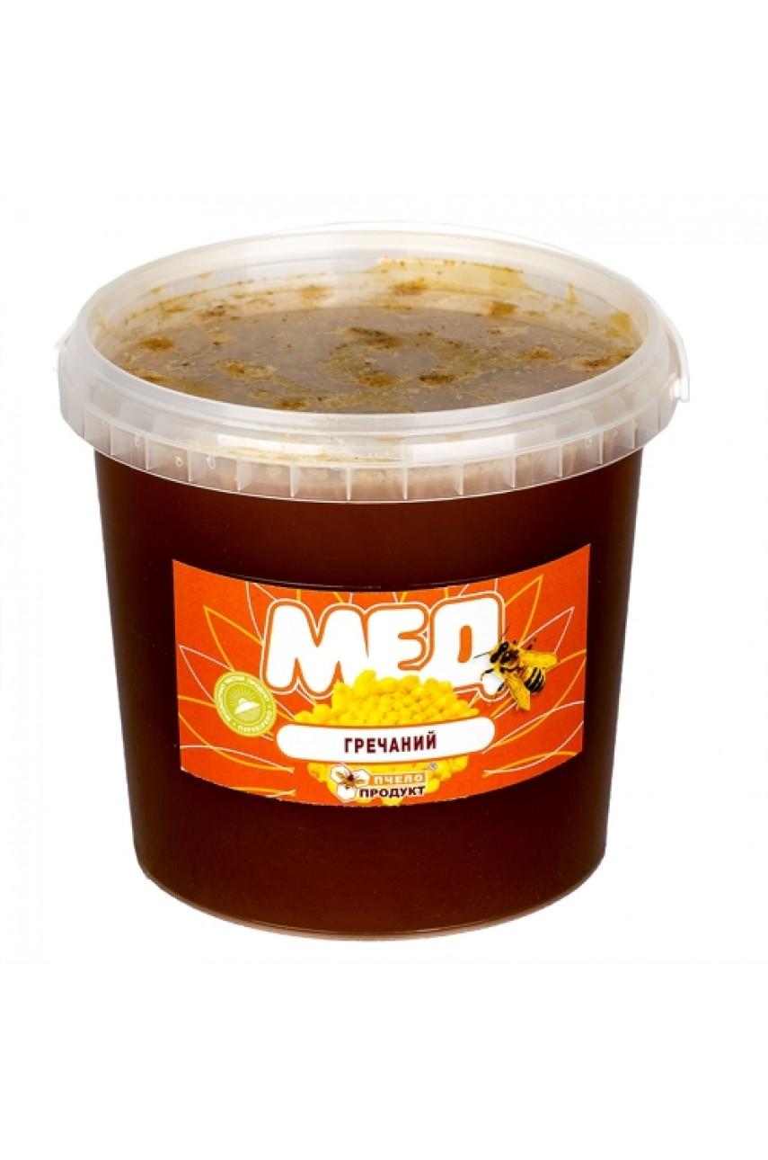 Мед Гречишный, 1,5 кг (пластик)