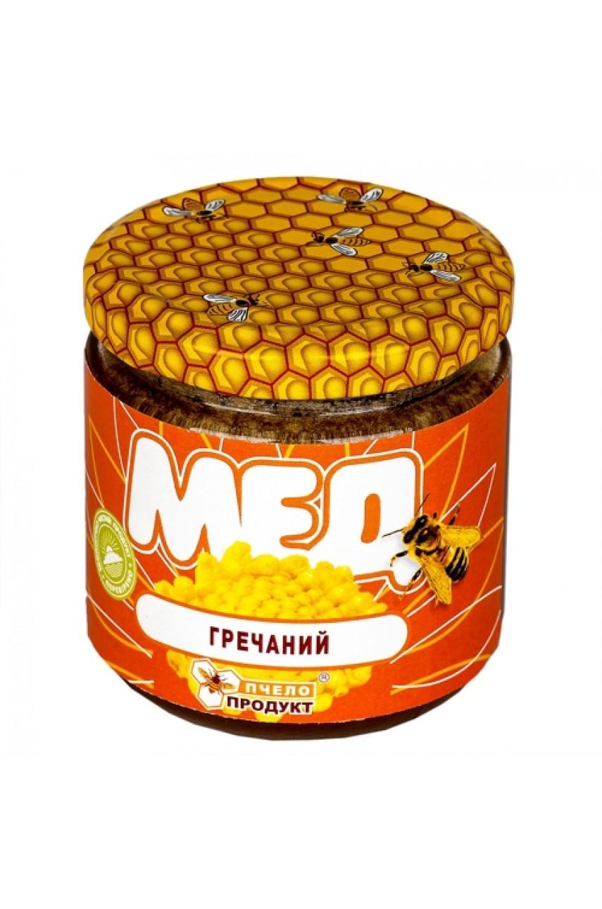 Мед Гречишный, 0,25 кг (стекло)