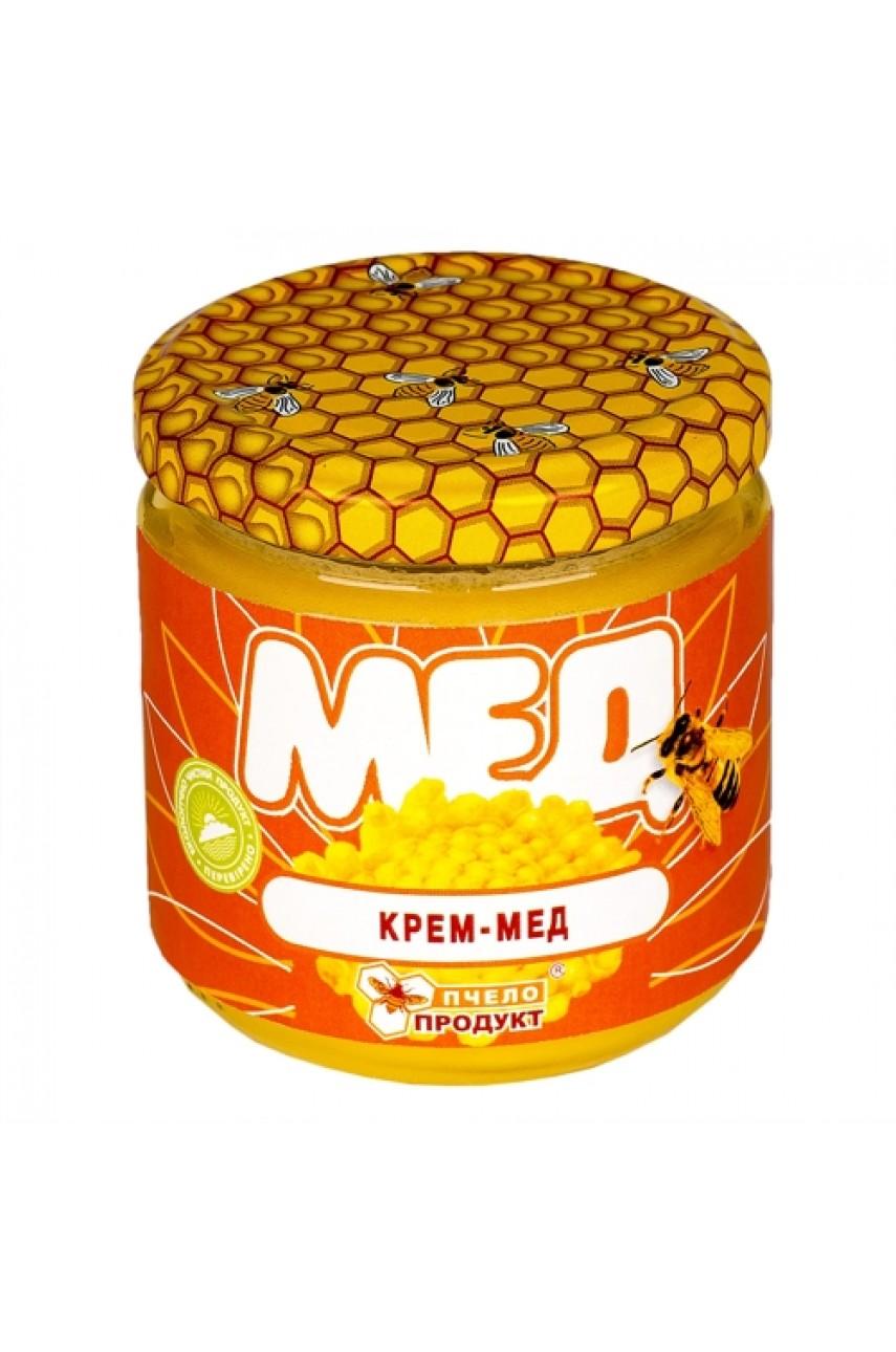 Крем-мед 0,25 кг (стекло)