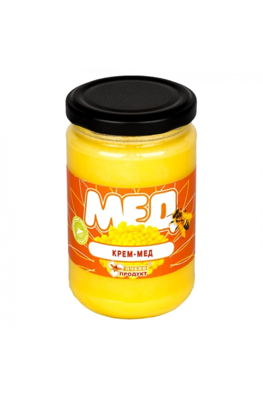 Крем-мед 0,4 кг (стекло)