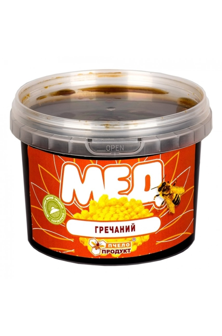 Мед Гречишный, 0,5 кг (пластик)
