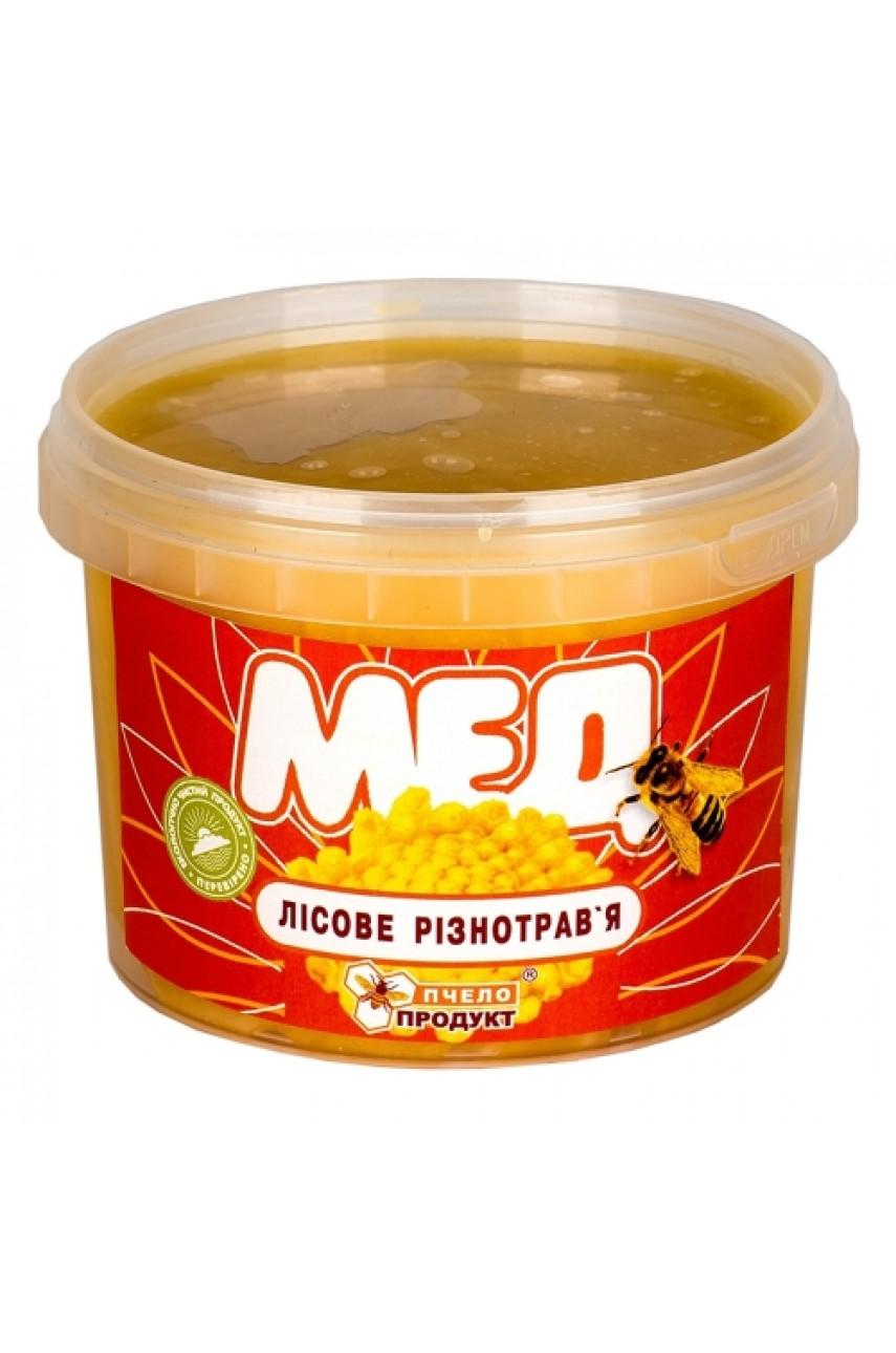 Мед Лесное разнотравье, 0,5 кг (пластик)