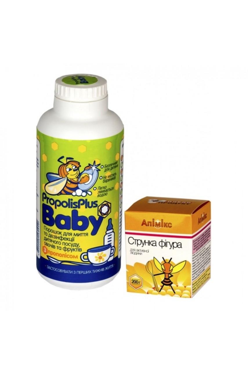 """Подарочный набор """"Propolis Plus Baby + Апимикс Стройная фигура"""""""