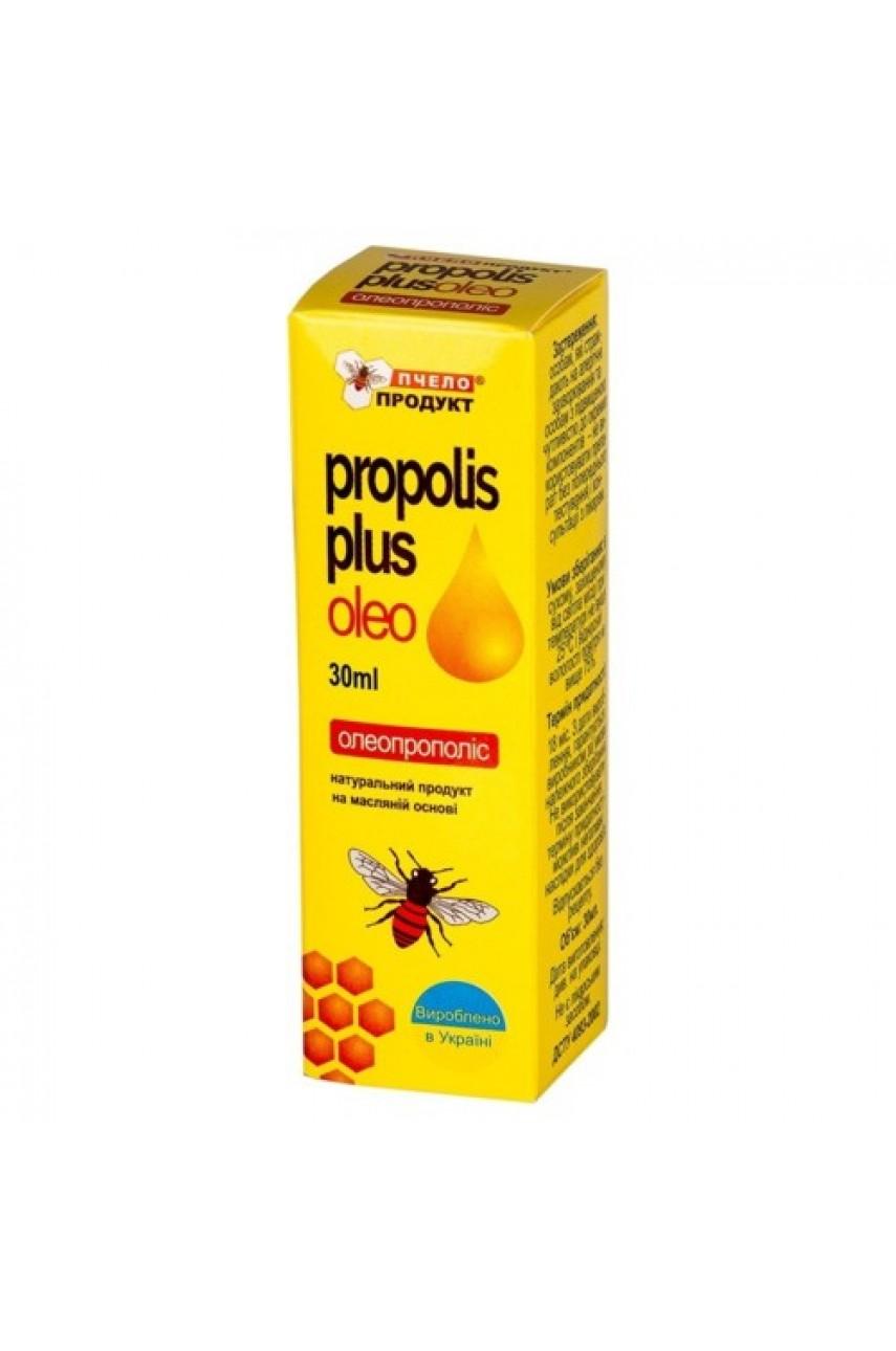 Олеопрополис - экстракт прополиса в облепиховом масле, Propolis Plus Oleo 30 мл