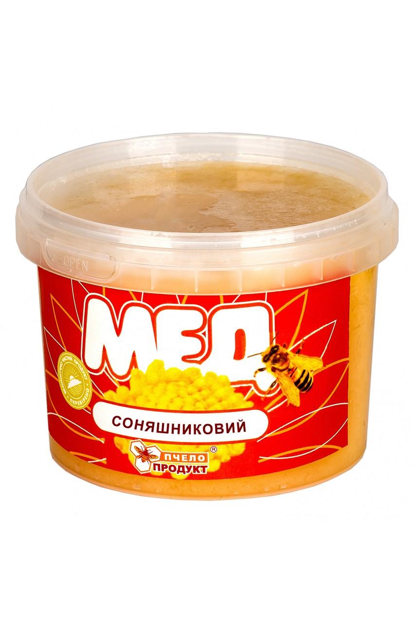 Мед Подсолнечниковый 0,5 кг (пластик)